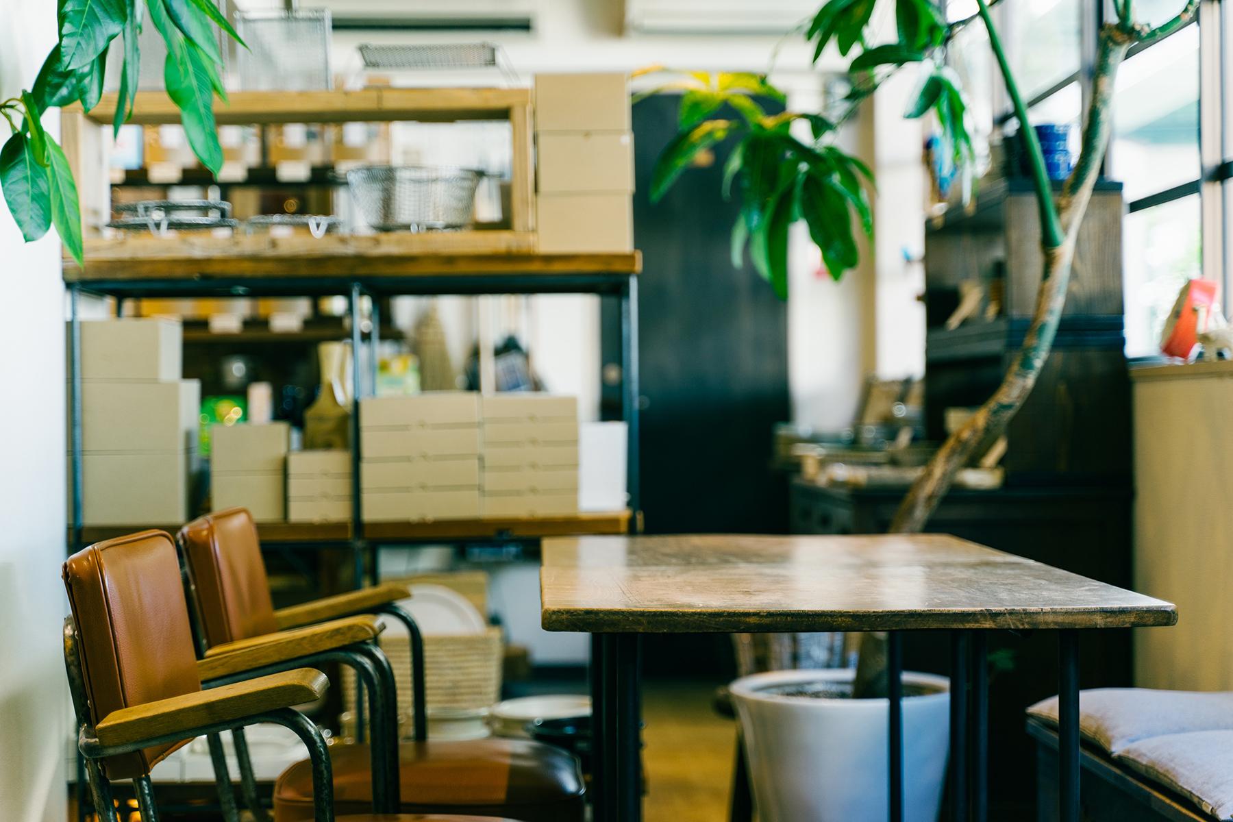 コネッタ店内 喫茶