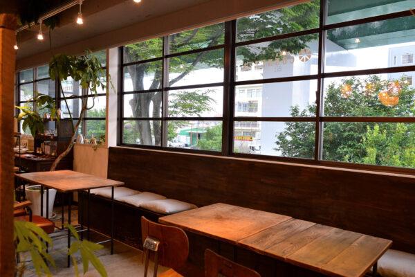喫茶スペース休業のお知らせ