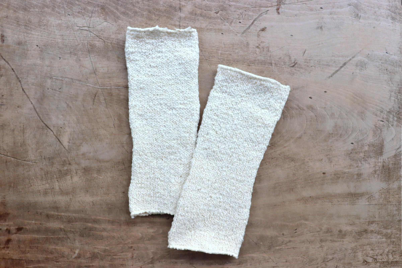 和綿の足首ウォーマー